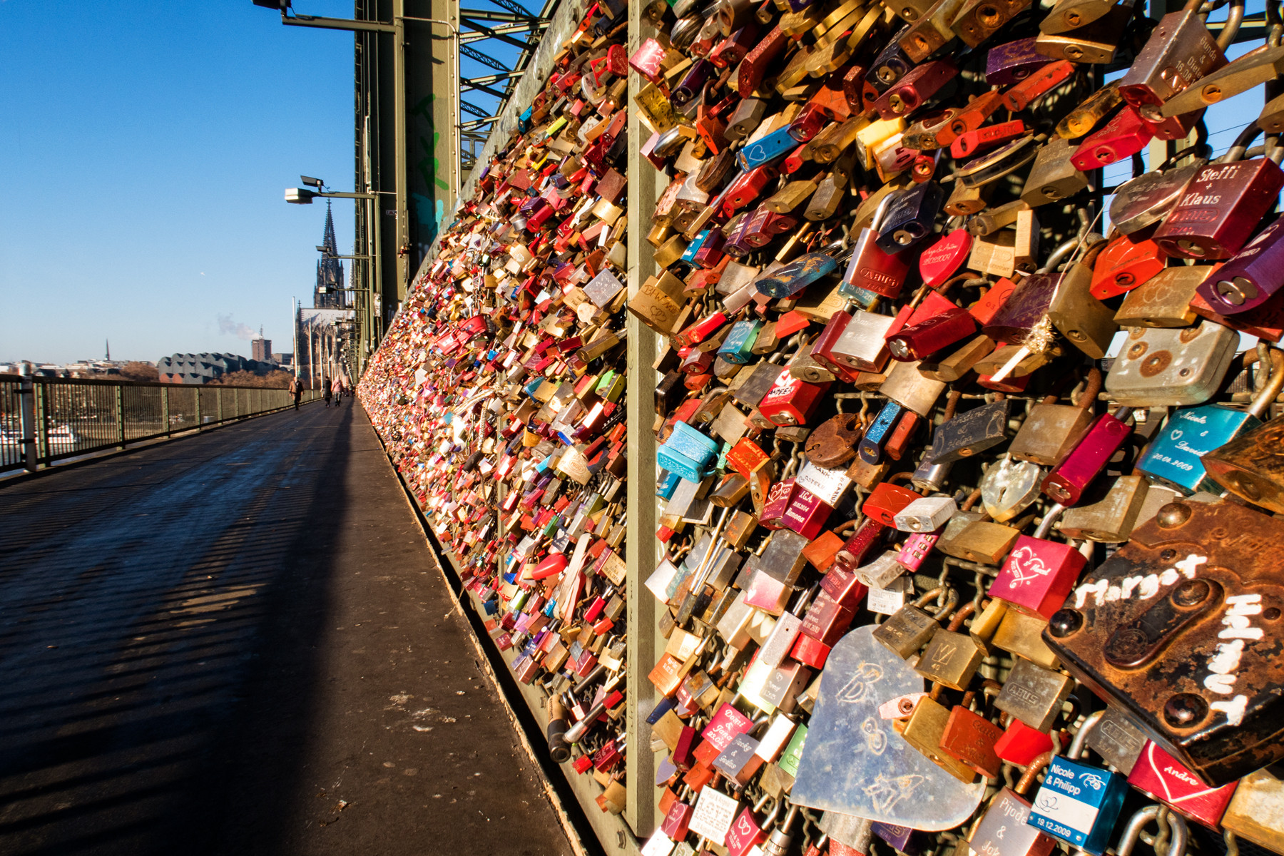 Bridge of Love - Cologne